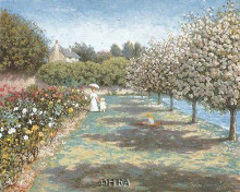 In The Rose Garden poster print