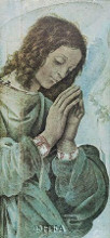 Adoring Angel poster print by Filippino Lippi
