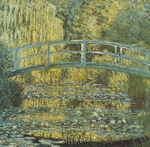 Bassin Aux Nympheas poster print by Claude Monet