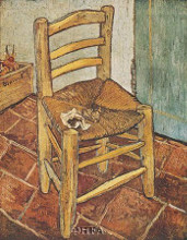 Chair And The Pipe poster print by Vincent van Gogh