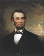 Abraham Lincoln poster print by George Henry Story