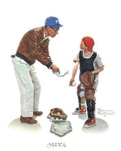 Big Decision poster print by Norman Rockwell