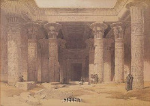 Grand Portico Of The Temple Of Philae poster print