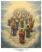 Gospel Choir Of Angels poster print
