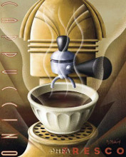 Cappuccino Fresco poster print by Michael L Kungl