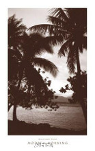 Moorea Morning poster print by David L Kluver