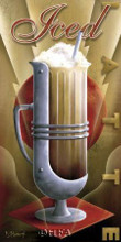 Iced Latte poster print by Michael L Kungl