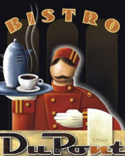 Bistro Dupont poster print by Michael L Kungl