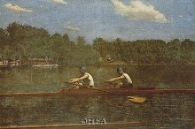 Biglin Brothers Racing poster print by Thomas Eakins