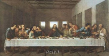 Last Supper poster print by R Stang