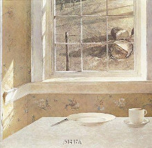 Ground Hog Day poster print by Andrew Wyeth