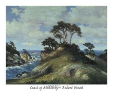 Coast Of Monterey poster print by Robert Wood