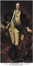 George Washington, 1779 poster print by Charles Wilson Peale