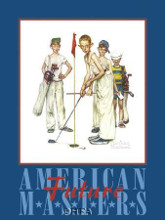American Masters poster print by Norman Rockwell