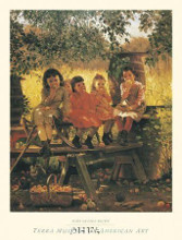 Cider Mill, 1880 poster print by John George Brown