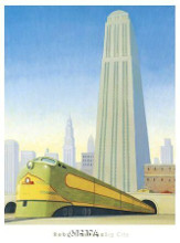 Big City poster print by Robert Laduke