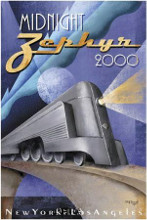 Midnight Zephyr 2000 poster print by Michael L Kungl