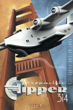 Clipper 314 poster print by Michael L Kungl