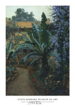 Garden Of The Potter Hotel poster print by Theodore Wores