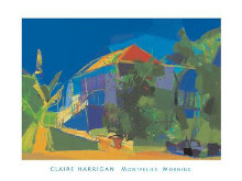 Montpelier, Morning poster print by Claire Harrigan