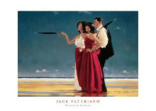Missing Man I poster print by Jack Vettriano