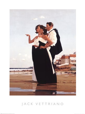 Missing Man II poster print by Jack Vettriano