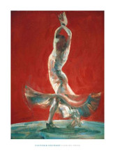 Flowing Dress poster print by Fletcher Sibthorp