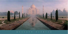 Taj Mahal And Eagle, Agra, India poster print