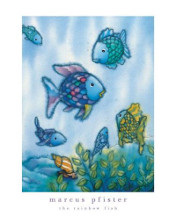 Rainbow Fish And Friends poster print by Marcus Pfister