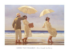 Picnic Party II poster print by Jack Vettriano