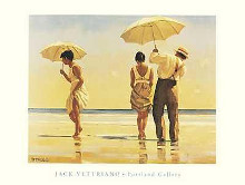 Mad Dogs poster print by Jack Vettriano