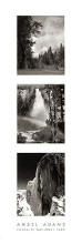 Yosemite National Park poster print by Ansel Adams