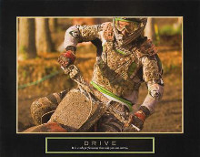 Drive - Motorcross poster print by Jerry Angelica