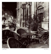 Cafe, Avignon poster print by Alan Blaustein