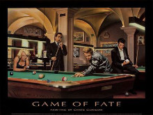 Game Of Fate poster print by Chris Consani