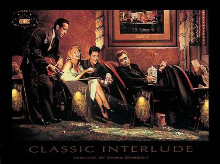 Classic Interlude poster print by Chris Consani