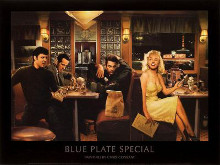 Blue Plate Special poster print by Chris Consani