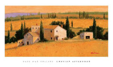 Umbrian Afternoon poster print by Gary Collins