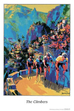 Climbers poster print by Malcolm Farley