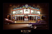Roxie Picture Palace poster print
