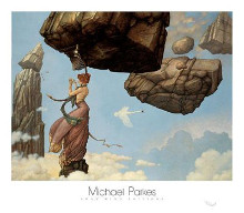 Maria poster print by Michael Parkes