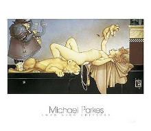Dawn poster print by Michael Parkes