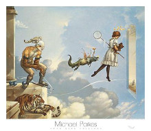 Desert Dream poster print by Michael Parkes