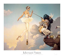 Leda'S Daughter poster print by Michael Parkes