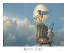 Magic Spring poster print by Michael Parkes