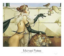 Creation poster print by Michael Parkes