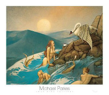 Dragon Fly poster print by Michael Parkes