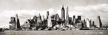 Manhattan Skyline poster print by  Unknown