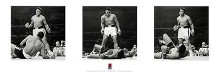Muhammad Ali Triptych poster print by  Unknown