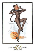 Trick Or Treat poster print by Alberto Vargas®